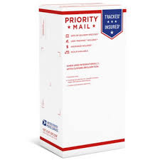 prority mail shoebox